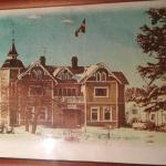 Lillgården som det såg ut när jag bodde på Järnvägsgatan
