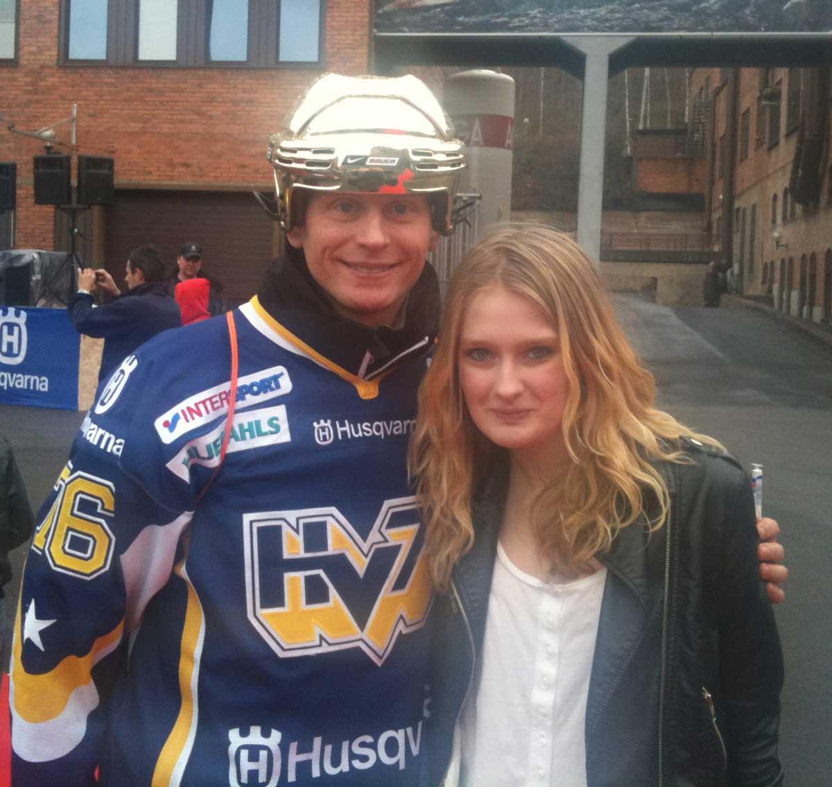 Johan Davidsson & Philippa Lokko